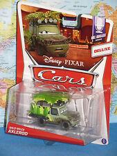 DISNEY PIXAR CARS WILD MILES AXLEROD #6/9 DELUXE MEL DORADO SHOW BRAND NEW VHTF