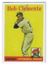 ROBERTO CLEMENTE 1958 TOPPS REPRINT!!  THIS IS A BEAUTY!!  NMT-MT PIRATES LEGEND