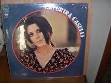 CATERINA CASELLI 33 GIRI OMONIMO 1970 MADE IN CANADA RARISSIMA EDIZIONE CBS
