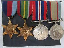 WW2 SERVICE CAMPAIGN MEDALS L.P.ROONEY 141316 GROUP SET 4 - AUSTRALIAN SERVICE