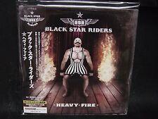 BLACK STAR RIDERS Heavy Fire + 1 JAPAN MINI LP CD Thin Lizzy Y&T Megadeth Almigh