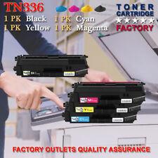 1SET TN336 BK/C/Y/M Combo Color Toner For Brother MFC-L8850CDW HL-L8350CDWT lot
