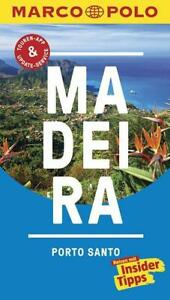MARCO POLO Reiseführer Madeira, Porto Santo (2016, Taschenbuch)