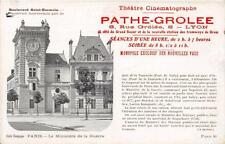 CPA 75 PARIS PUBLICITE PATHE GROLEE CINEMATOGRAPHIE Bd SAINT GERMAIN