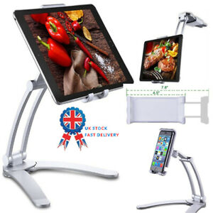 2020 Kitchen Fold Wall iPad Tablets Phone Stand Mount Holder Bracket UK