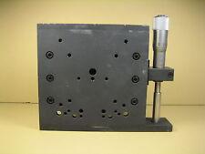 Control Technics  Linear Stage  Dimensions: 120mm x 120mm x 30mm HT Travel: 25mm