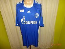 "FC Schalke 04 Original Adidas Heim Trikot 2008/09 ""GAZPROM"" Gr.XXL TOP"