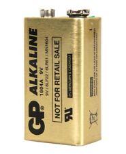 Lot 10 Piles Battery 9V SUPER GP MN1604 6LF22 6LR61 Alkaline 0% Mercury Cadmium