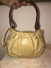 Women's Fossil Mini Handbag Leather Cosmetic Purse