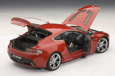 Aston Martin V12 Vantage in Red Diecast Model Car in 1:18 Scale by AUTOart 70208