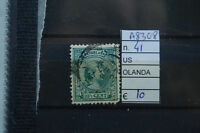 FRANCOBOLLI OLANDA USATI N°41 (A8308)