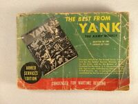 THE BEST FROM YANK Armed Services Edition - 1945 - Condensed for Wartime Reading