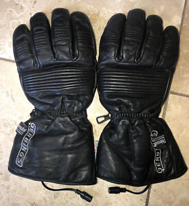 gerbings heated gloves motorcycle snowmobile Large Made With Kevlar leather