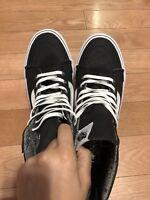 Vans old Skool authentic Black High Top Sneaker Men's Size 8.5 / Women's Size 10