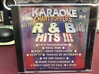 Chart Toppers Karaoke KCT 018 R&B Hits Vol 1 CDG Multiplex Sealed