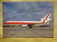 GARUDA  DC 10-30   PK-GIB    / collection vilain N° 1408