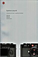 Système LEICA M _ M8 _ M7 _ MP _ boitiers objectifs accessoires