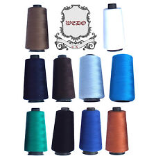 Overlocking Sewing Machine Industrial Polyester Thread Cone 5000 Yard approx.