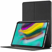 Samsung Galaxy Tab S5e 10.5 Smart Case | Magnetic Protective Cover Stand | Black