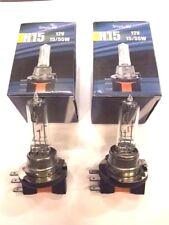 H15 Standard Headlight Bulb 12V 15/55w....Pair