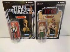 Star Wars Dr Evazan VC57 and VC114 Prune face unpunched cards