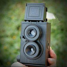 DIY Film Camera Kit Twin Lens Reflex TLR 35mm Classic Retro Lomo Camera