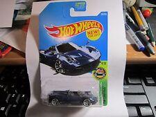 '17 Pagani Huayra Roadster #290 * Blue * 2017 Hot Wheels Case N U.S.