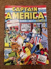 Captain America Comics 1 1941 Custom Made Cover REPRINT