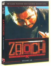 Zatoichi The Bind Swordsman  Television Series Vol 6 2 DVDs  OOP