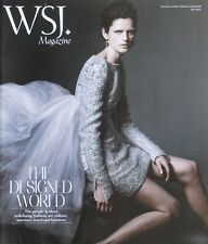 STELLA TENNANT May 2012 WALL STREET JOURNAL Magazine TOM DIXON ICONIC DESIGNS