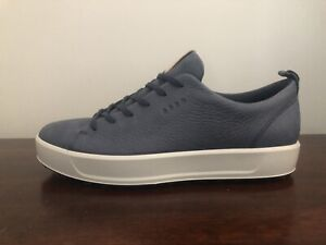 ECCO Golf Soft Hydromax Hybrid Men's Golf Shoes Blue Marine Size 11-11.5 (EU 45)
