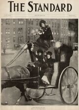 "Vintage Suffragette Propaganda ""THE STANDARD, 1895"" 250gsm A3 Poster"