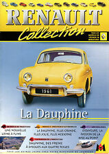 FASCICULE 2 M6 LA COLLECTION RENAULT DAUPHINE + FICHE TECHNIQUE (MINI POSTER A4)