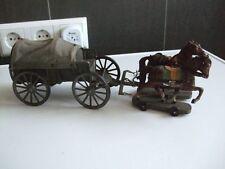 Elastolin Militär Planwagen, Pferdegespann   ( 1 )