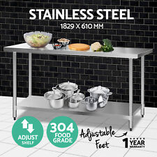 304/430 Commercial Stainless Steel Kitchen Work Bench Top Food Grade Prep Table Model 4 430 610*610mm