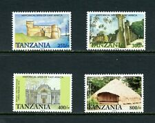 V925 Tanzania 2001 historic sites of East Africa 4v. MNH