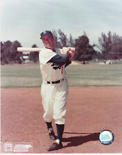 PEE WEE REESE DODGERS HOF OFFICIAL MLB BASEBALL COLOR UNSIGNED 8X10 PHOTO 1
