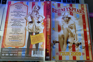 Britney Spears Fanmade Dvd Circus Paris Tour Show Brunette France