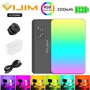 Ulanzi Vijim VL120 RGB CTT Led Video Light Lamp 2500K-9000K Fill Light