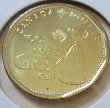 2012 Canada GREY CUP Loonie One Dollar Coin. (UNC.)