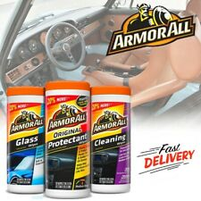 Armor All Car Interior Cleaner Wipes Automotive Surface Protectant Leather Care