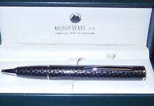 Monteverde Power Bank Ballpoint Pen, Carbon Fiber, 1100mAh, Cell Phone Charger