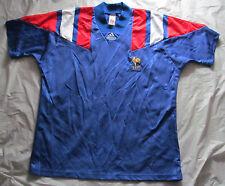Vintage France FFF (French Football Federation) Adidas Soccer Jersey - Size XL