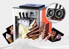 3 commerciale sapore morbido Gelato Macchina Coni gelato Morbido Maker 220/110V un