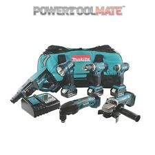 Makita DLX6075M 18V LXT 6 Piece Combo Kit (3 x 4.0Ah Li-ion Batteries) DLX6075