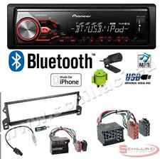 Pioneer MVH-X380BT autoradio USB / bluetooth + Kit montaggio per BMW mini copper