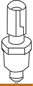 FORD OEM-Coolant Temperature Sensor 3F1Z12A648A