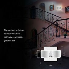 SOLLED Rechargeable Motion Sensor LED Light Sticker Bright Wall Lamp Walkway