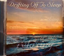 Brand New !  DRIFTING OFF TO SLEEP Relax Mind & Body Soothing Ocean Waves CD
