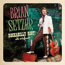 Rockabilly Riot All Original - Brian Setzer (2014, CD NUEVO)